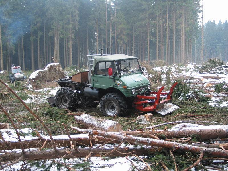 Unimog U 406 >> Unimog U406 bei der Waldarbeit - Unimog - Baumaschinen & Bau Forum - Bauforum24