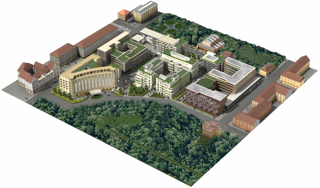Bv Lenbach Gärten In München Spezialtiefbau Baumaschinen Bau