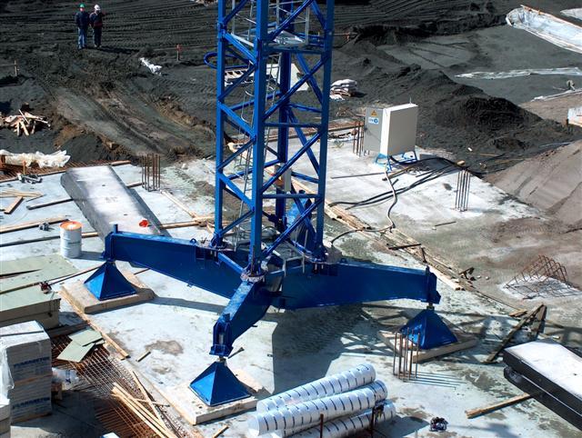 Große Baufirmen kranmontage linden comansa 21lc290 u 21lc400 tdk kranmontagen