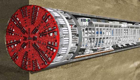 Größte Tunnelbohrmaschine Der Welt