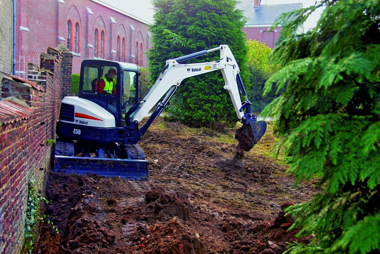 galabau 2010: bobcat zeigt maschinen und einsatzmöglichkeiten, Gartenarbeit ideen