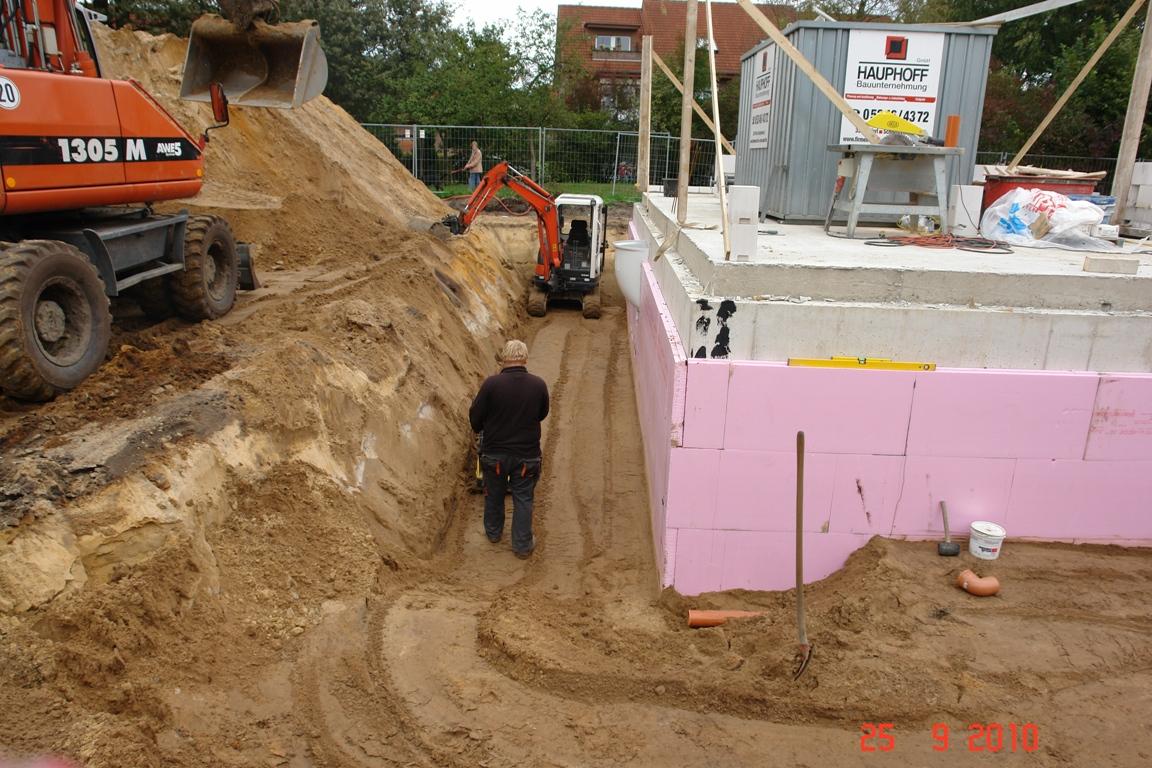 Neubau eines einfamilienhauses seite 8 hausbau for Boden verdichten