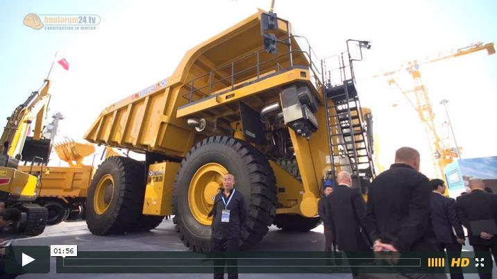 Video: XCMG XDE240 Mining Dump Truck - Bauma China 2014