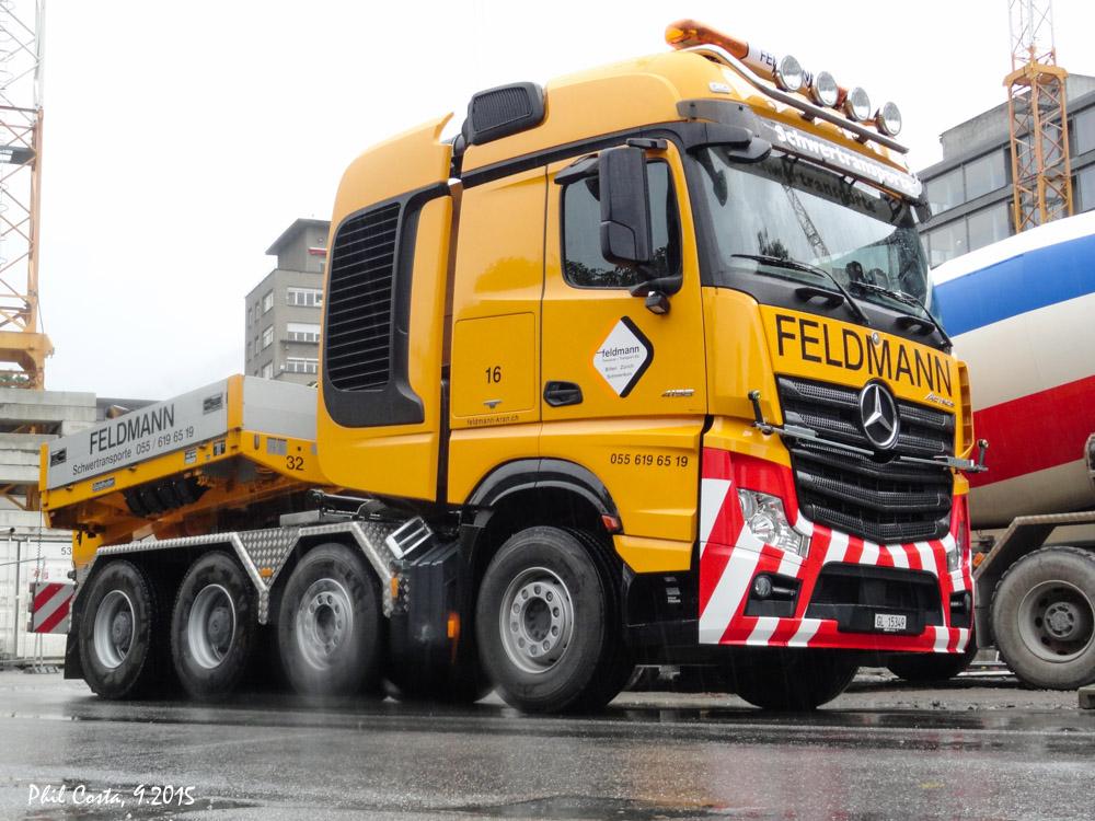 Mercedes benz actros schwerlastzugmaschinen seite 12 for Feldmann mercedes benz
