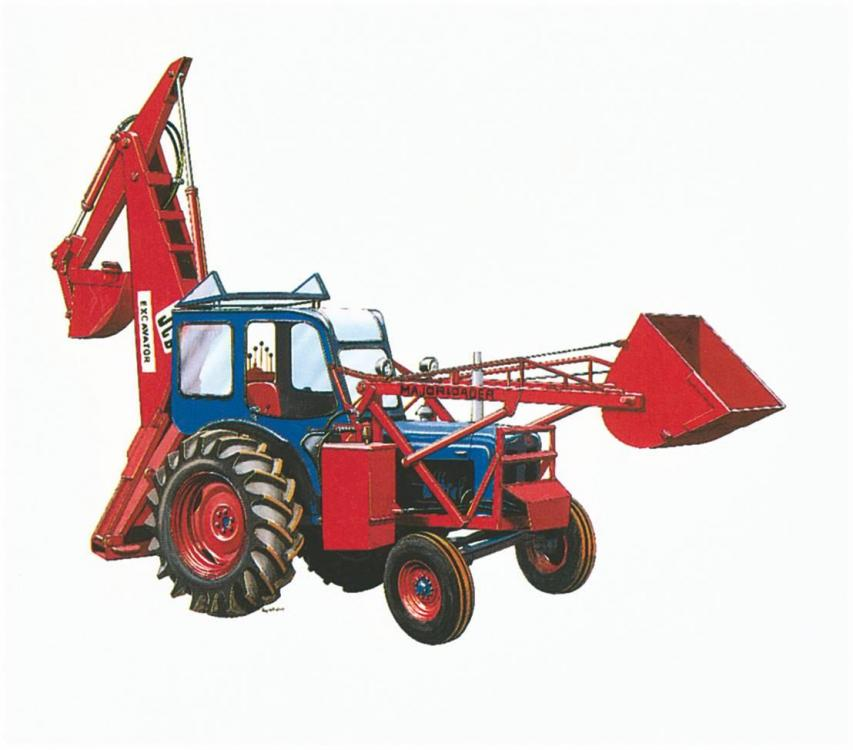 1953_-_the_first_backhoe_invented_by_Mr_