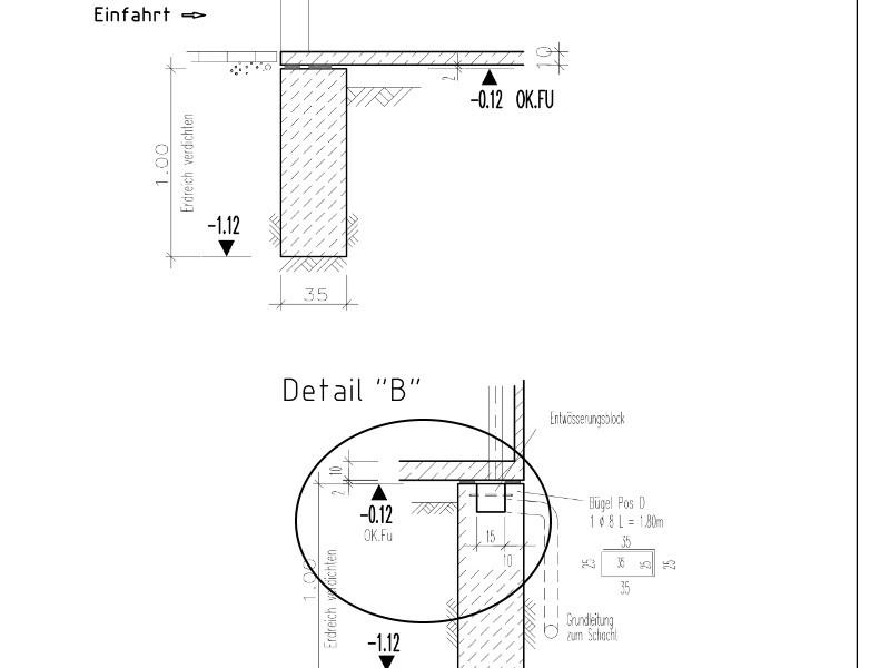Hohe Der Fundamente Der Garage Seite 3 Hausbau Allgemein
