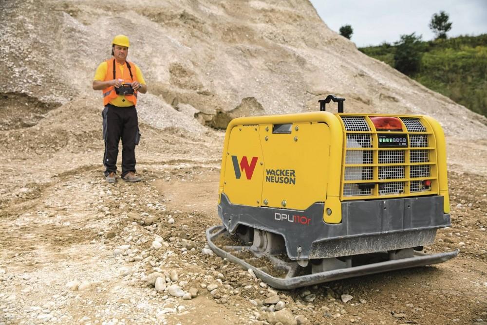Wacker Neuson DPU110r Vibrationsplatte