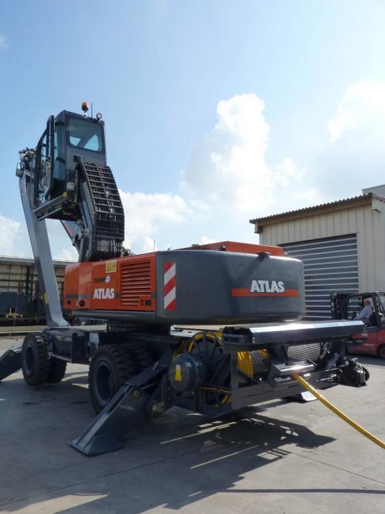 Atlas 350 MH E Elektro Umschlagmaschine