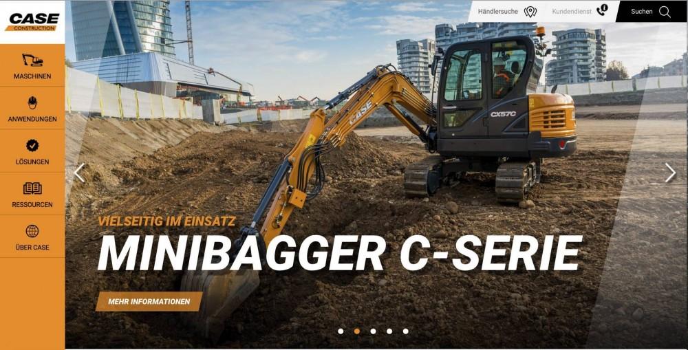 Case Construction Website 2017