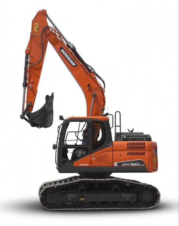 Doosan DX160LC-5 HT High Track-Bagger