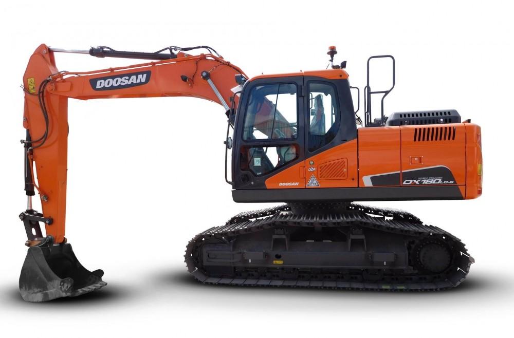 Doosan DX180LC-5 HTHigh Track-Bagger