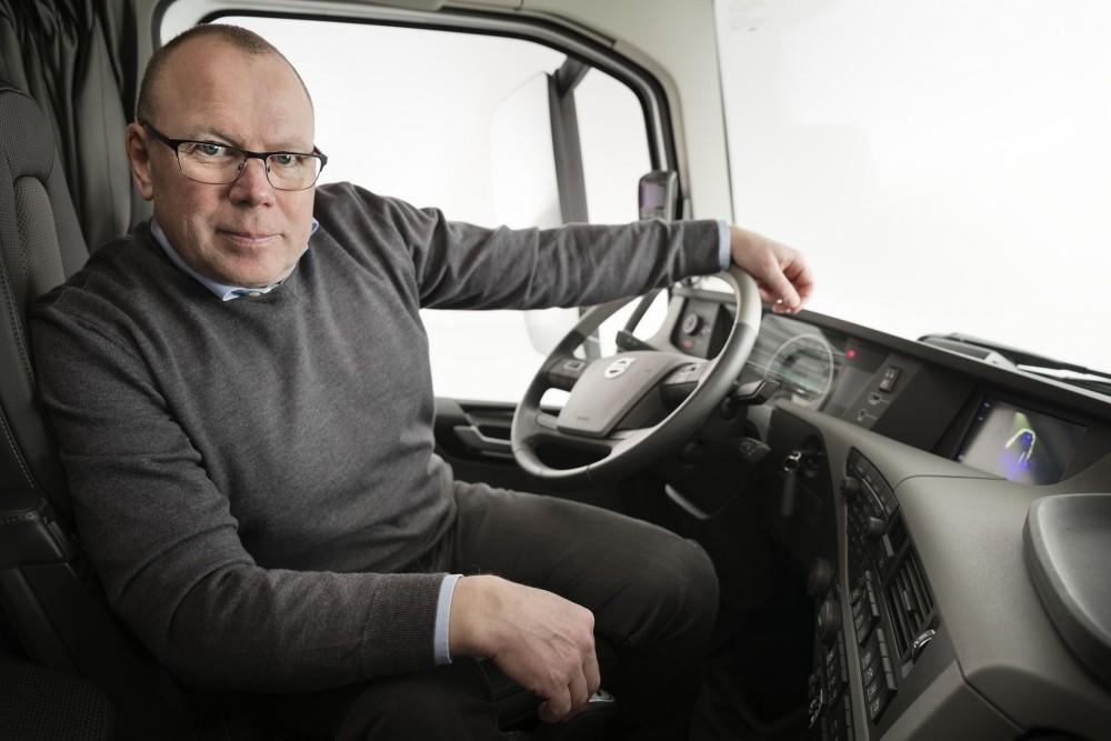 Anders Edenholm, Segment Manager Distribution, Volvo Trucks