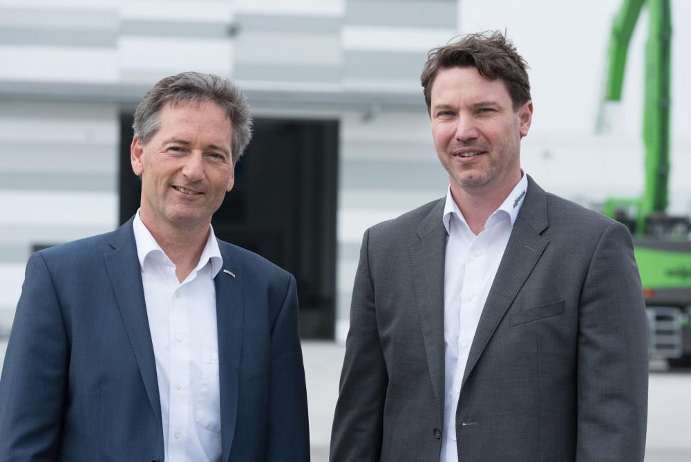 Geschäftsführer Sennebogen Rental & Used - Dr. Andreas Maurer & Alfred Endl