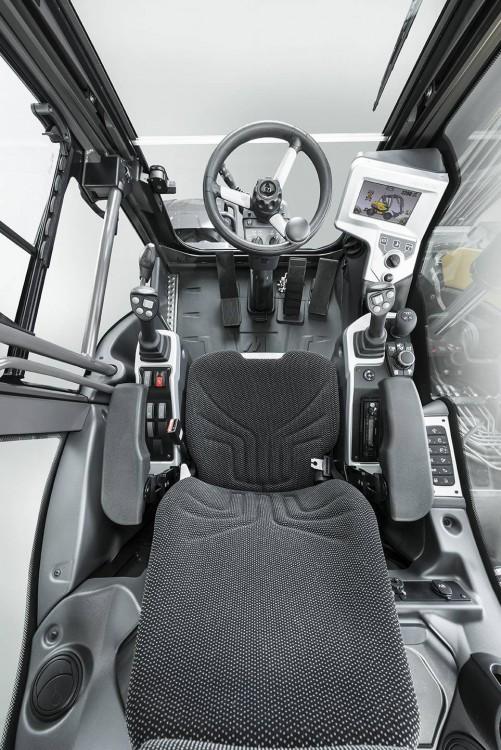 Mecalac MWR Mobilbagger Kabine