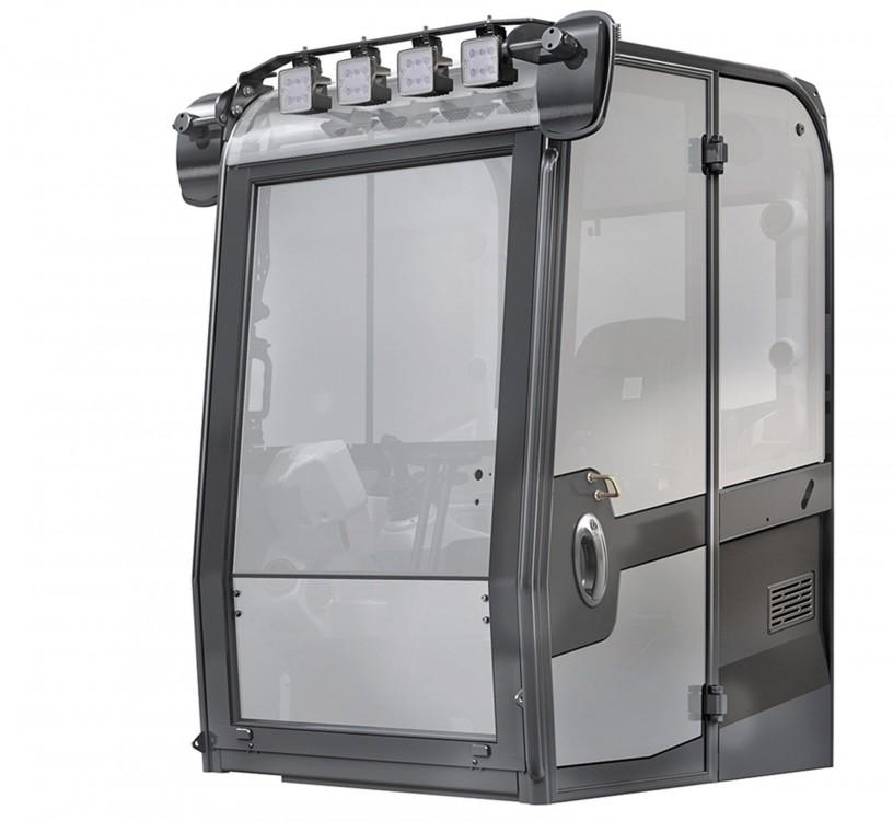 Neue Kabine der JCB Mini- und Midibagger