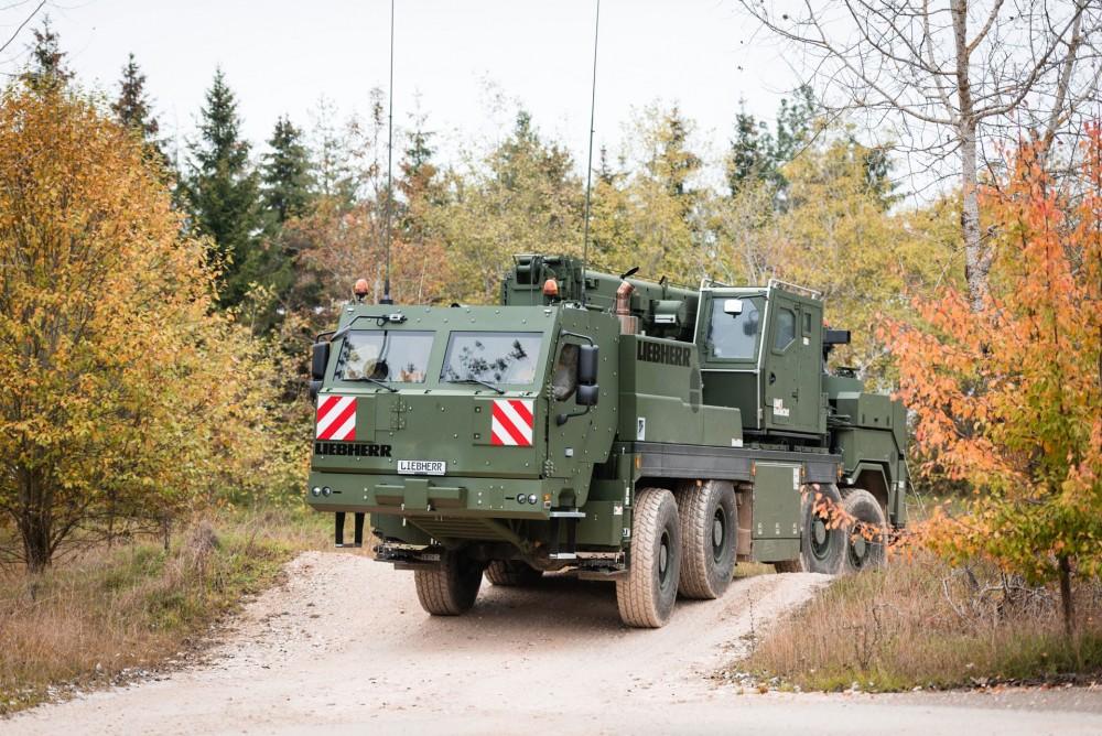 Liebherr G-BKF Bergekranfahrzeug für die Bundeswehr