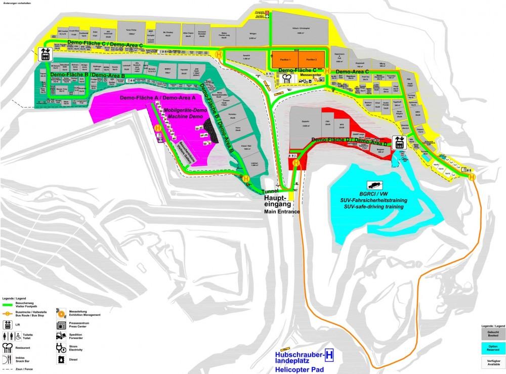 steinexpo 2017 Lageplan