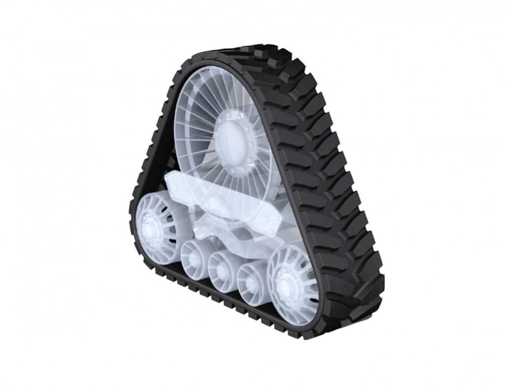 Continental Gummiraupenketten mit Armorlug-Technologie