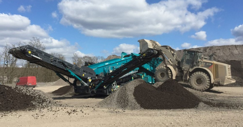 Powerscreen Warrior 2100 Spaleck
