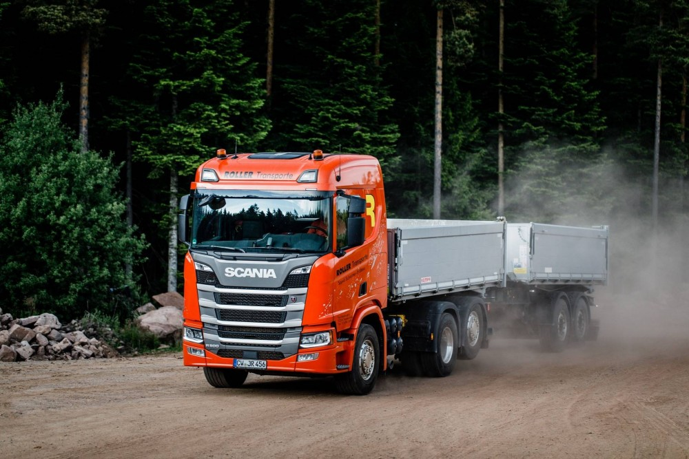 Scania Baufahrzeug R 500
