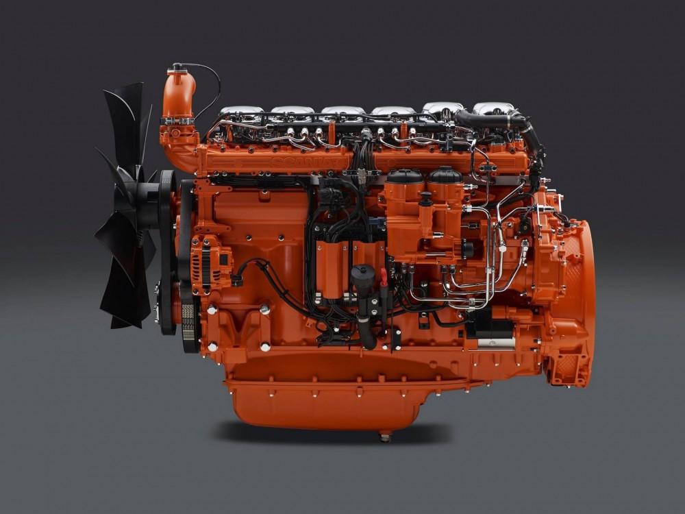 Scania Industriemotor DC1313-Liter-Reihensechszylinder