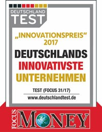 Focus Money Innovationspreis 2017 für HKL