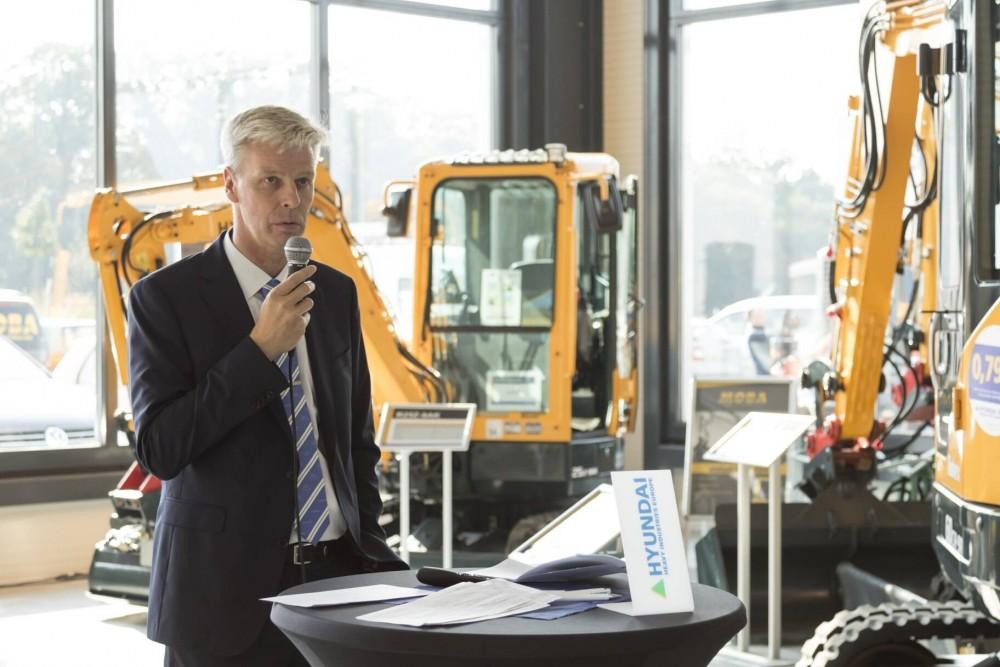 Eröffnungansprache von Hyundai Vertriebsleiter Deutschland, Frank Frickenstein
