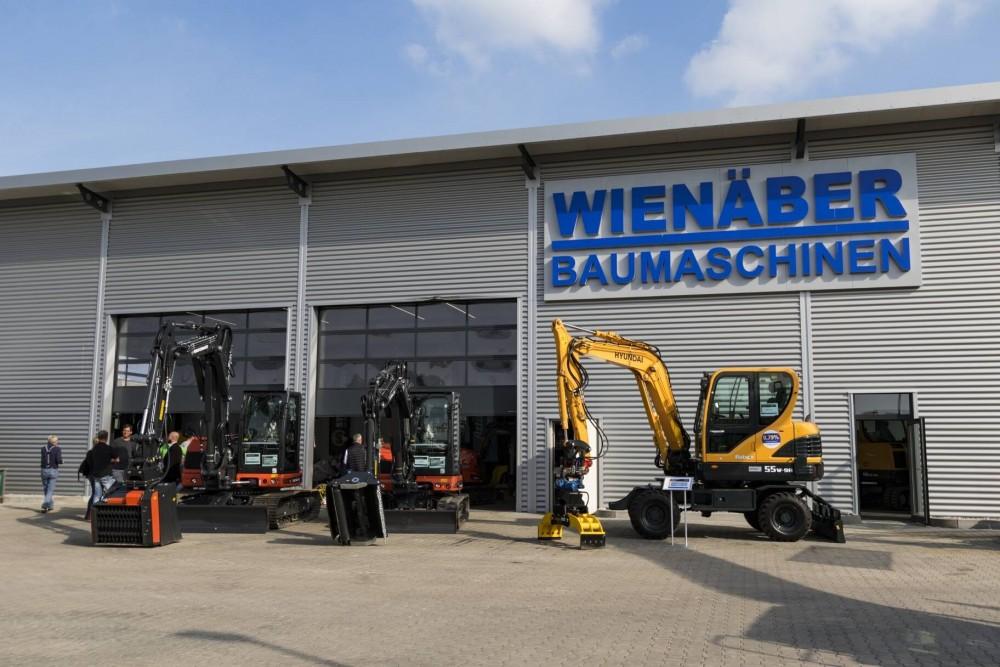Eurocomach ist eine weitere Exklusivmarke von Wienäber Baumaschinen - neben der Hauptmarke Hyundai