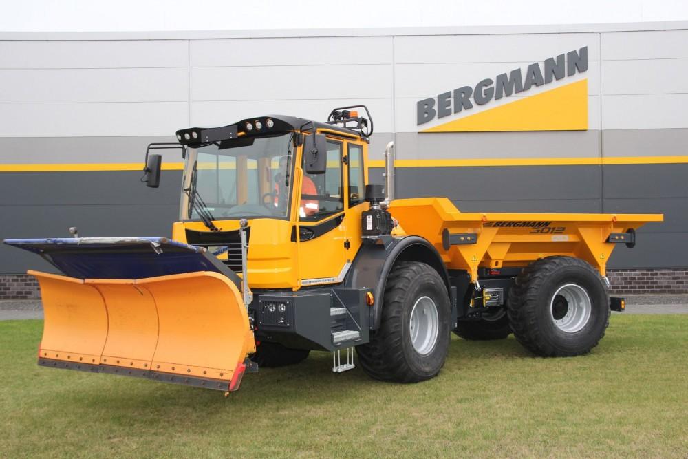 Bergmann Dumper 3012 mit Schneeräumschild