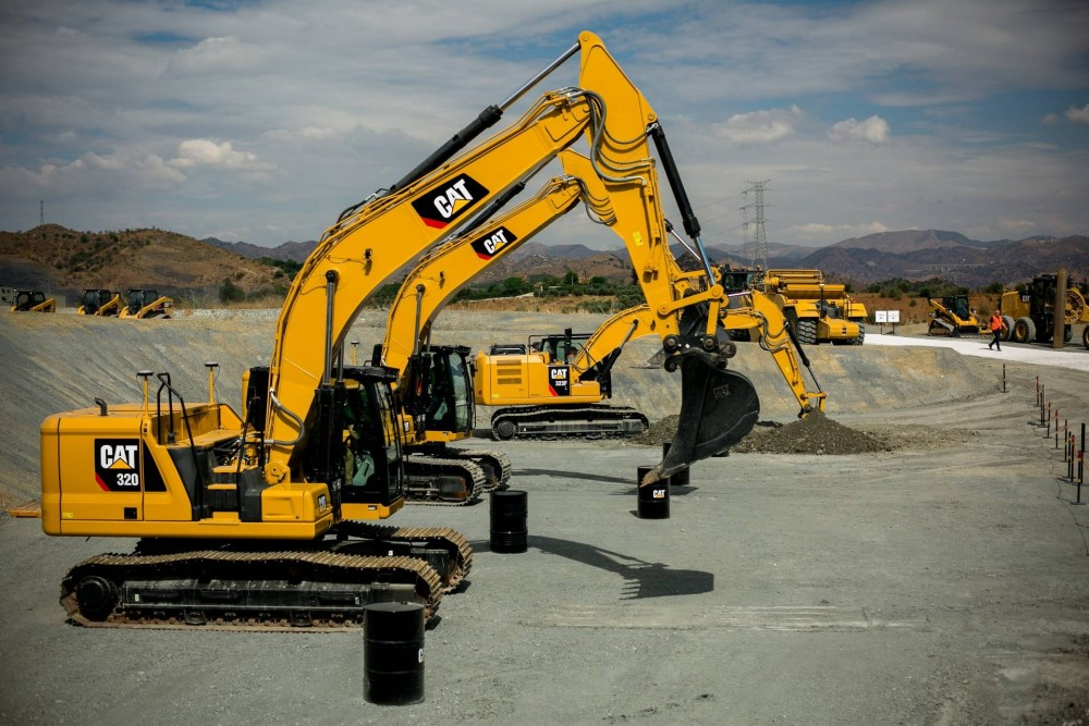 Cat 320, Cat 320 GC und Cat 323 bei den Challenger Days 2017 in Malaga