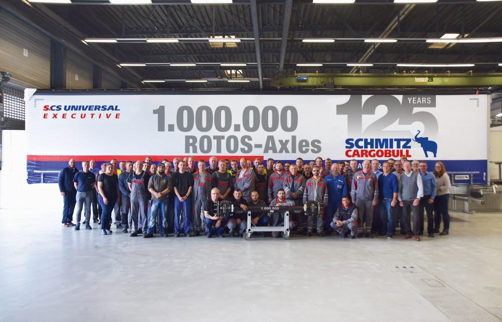 Eine Million Achsen von Schmitz Cargobull