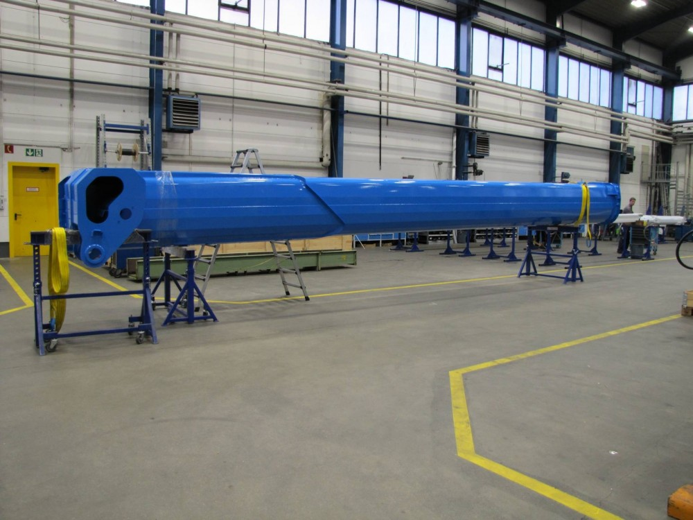 Teleskopträger des Ruthmann Sky Performance Steiger T 900 HF