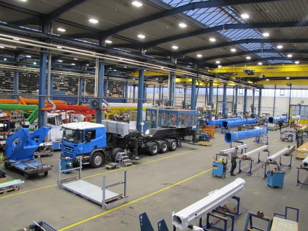 Produktion des Ruthmann Sky Performance Steiger T 900 HF