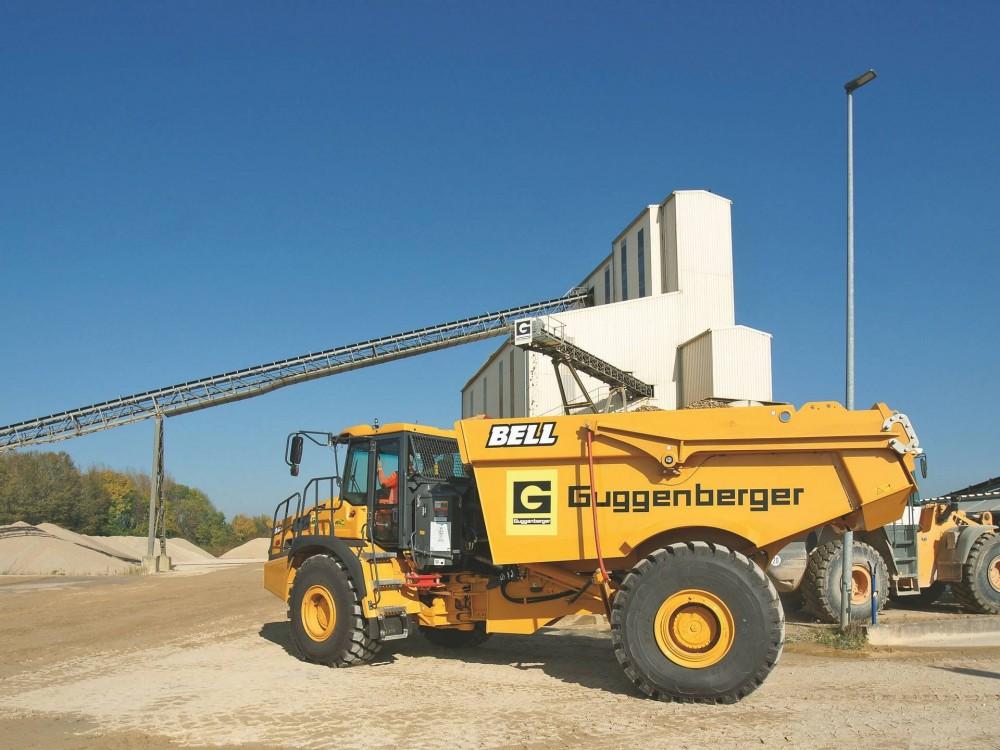 Bell B30E 4x4 bei der Guggenberger GmbH