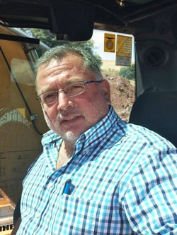 Frank Braun, Betriebsleiter, Braun Transporte