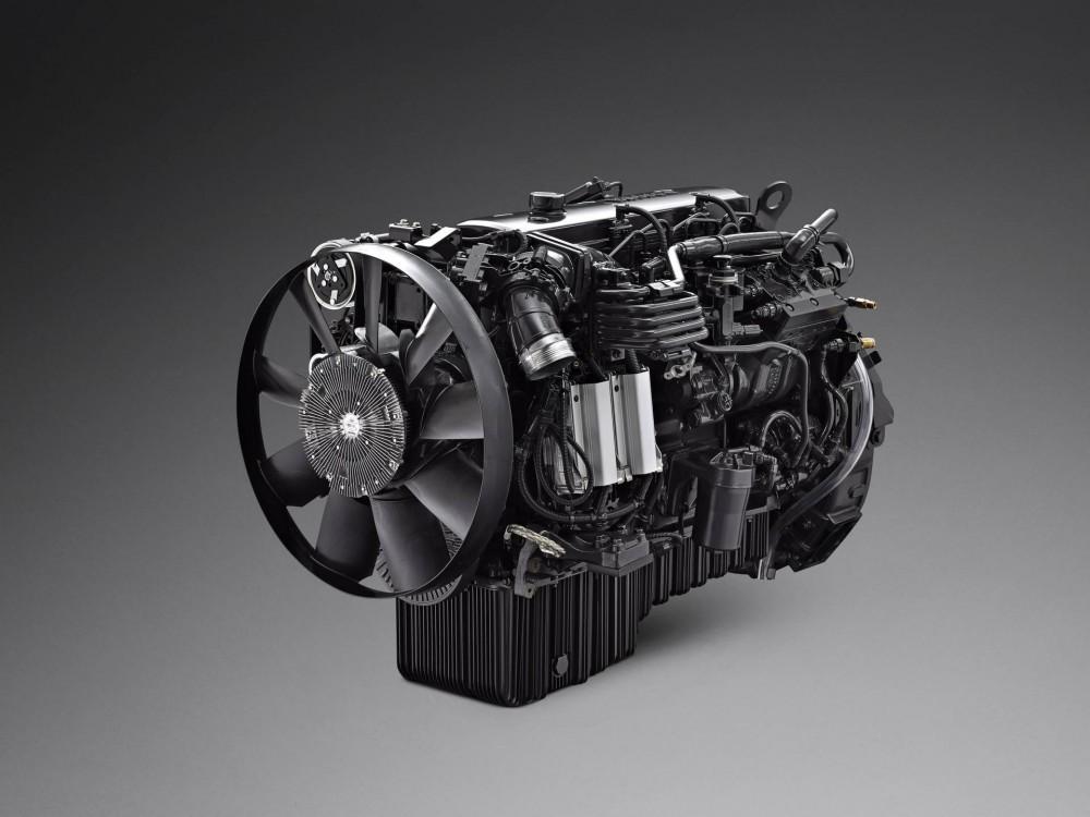 Neue 7-Liter-Motorenreihe von Scania