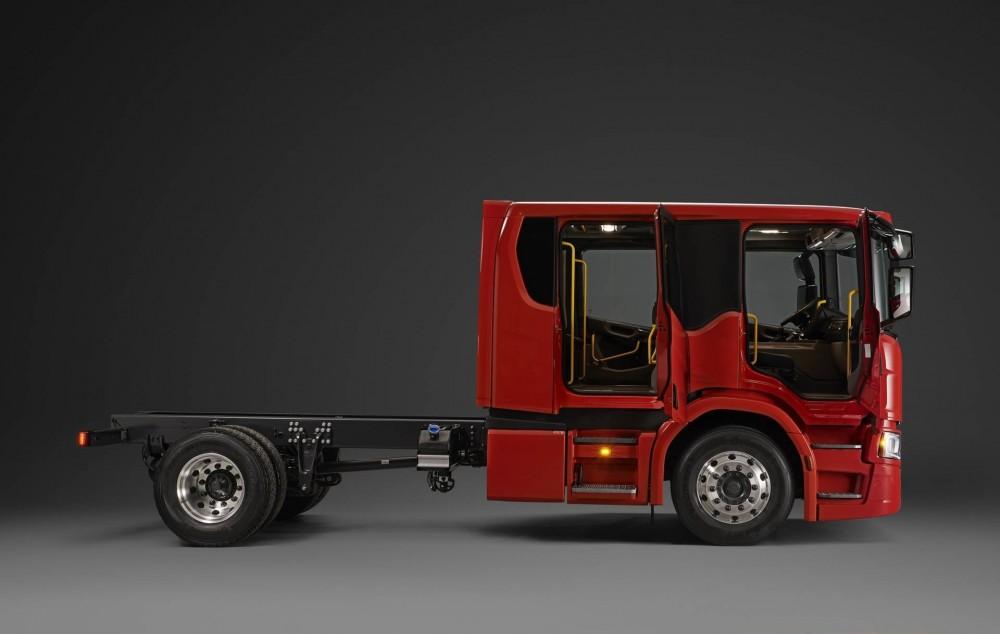 Scania CrewCab -Mannschaftsfahrerhaus