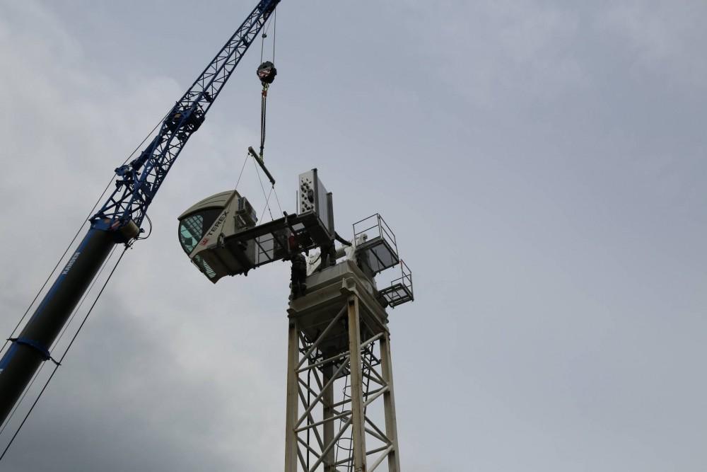 Aufbau einesTerexCTL 430-24 in Vancouver