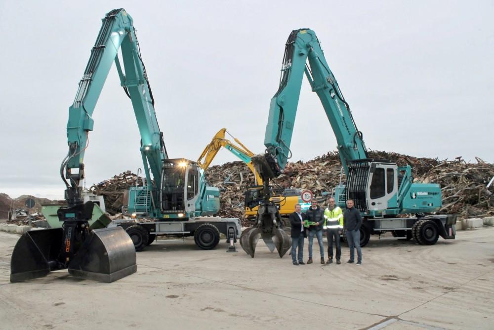 Sennebogen 825 E Umschlagbagger von Knepper Recycling