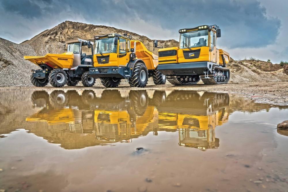 Bergmann bringt vom kompakten 2060 über den vielseitigen 3012 bis zum ausgefeilten Nischenprodukt 4010 seine Premiumdumper nach Österreich