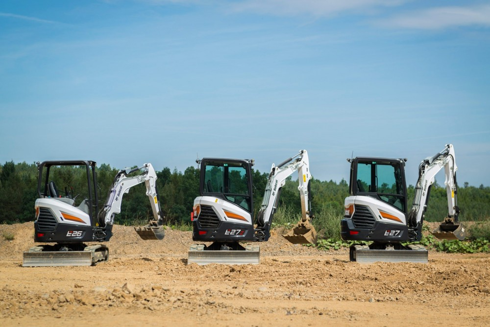 Bobcat E26, E27z und E27 Bagger