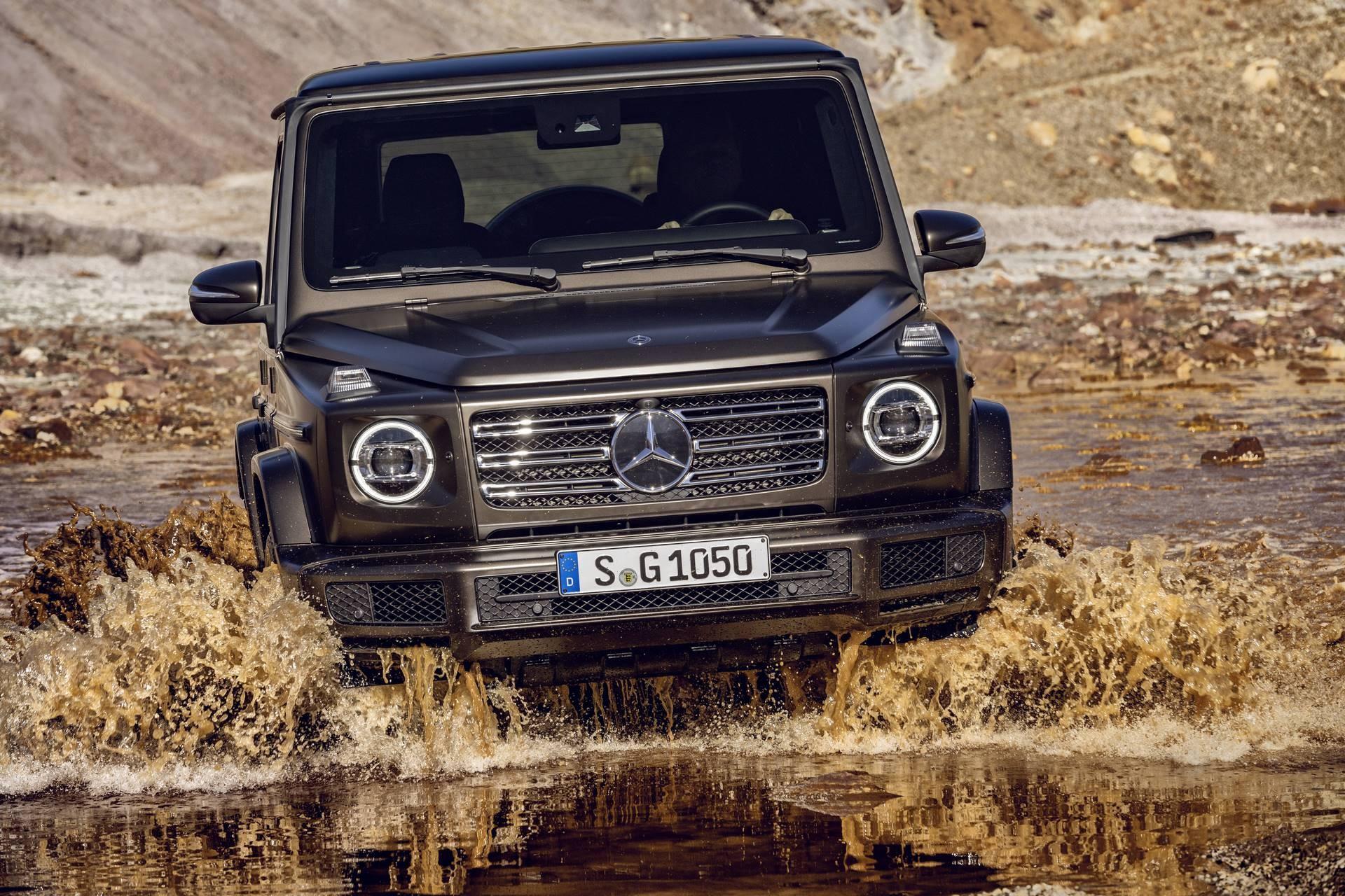 Die neue Mercedes-Benz G-Klasse 2018 - Mercedes-Benz - Baumaschinen ...