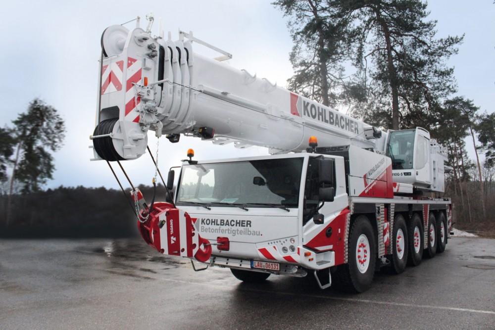 TADANO ATF 110G-5 All-Terrain-Kran der Kohlbacher GmbH