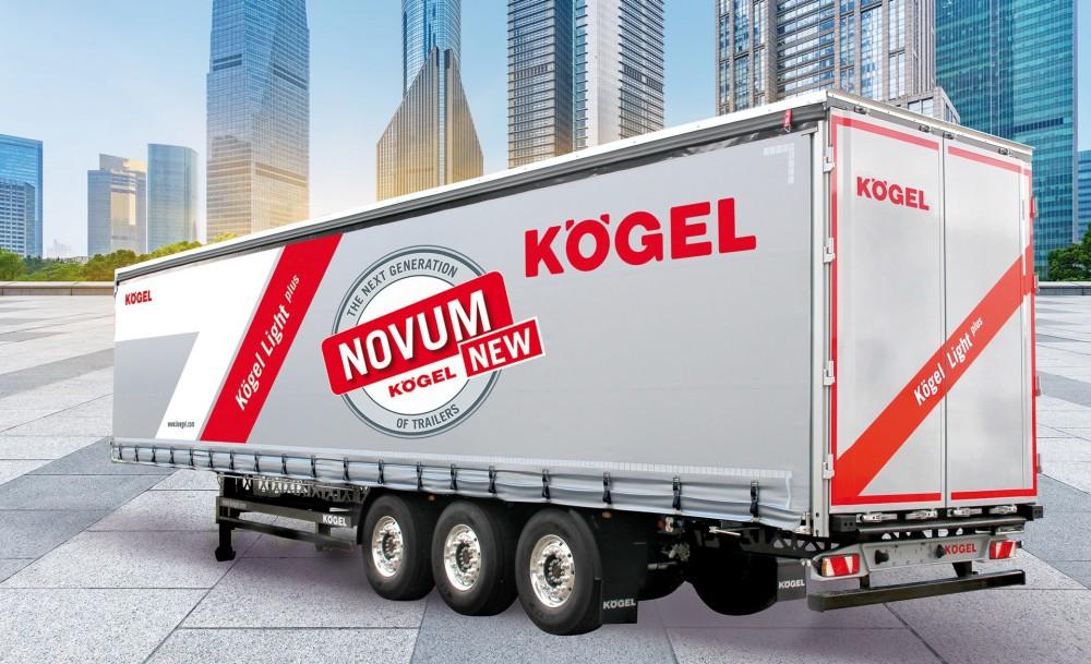 Neue Fahrzeuggeneration NOVUM am Beispiel des Kögel Lightplus