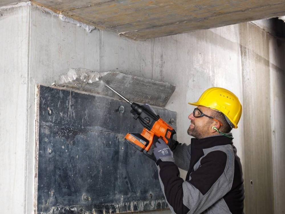 FEIN ABH 18 - Mit dem Meißel Betonüberstände entfernen