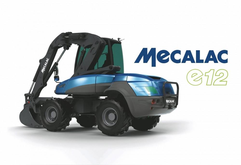 Mecalac e12 Elektrobagger