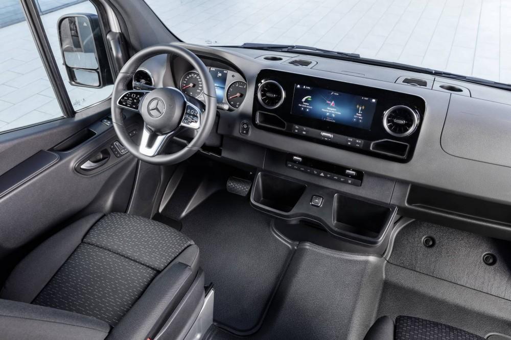 Mercedes-Benz Sprinter 2018 Innenraum