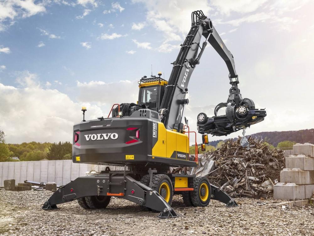 Volvo EW240E Material Handler