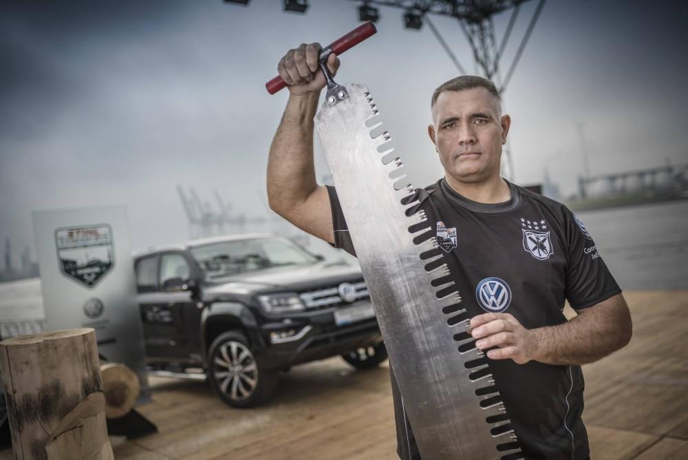 Neunfacher und amtierender Stihl TimbersportsEinzelweltmeister: Jason Wynyard