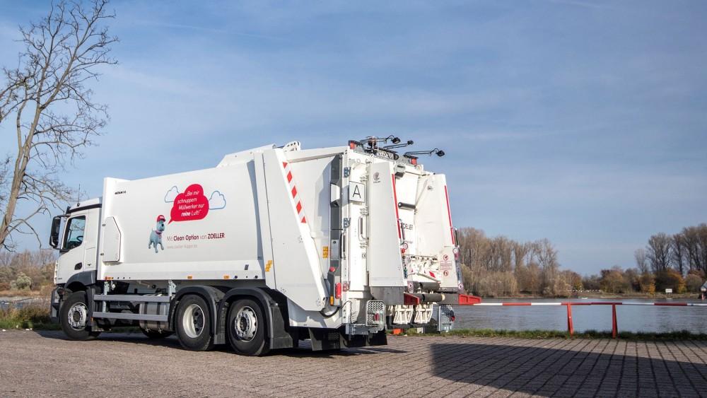 Zöller-Kipper präsentiert auf der IFAT Das System Clean Option